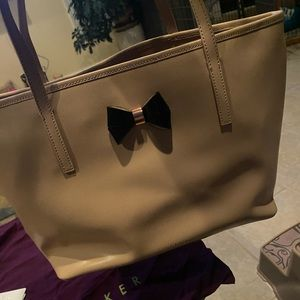 Ted Baker Never Used Beige Tote